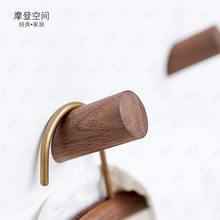 Скандинавские твердые деревянные крючки креативные цилиндрические