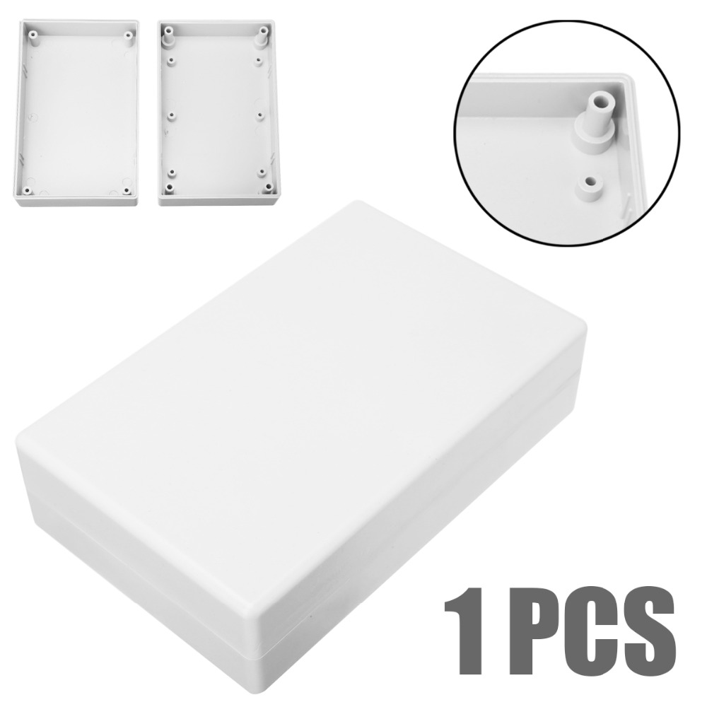 White Electronic Project Case Waterproof Plastic Cover Enclosure Box 125x80x32mm For Power Supply UnitsWhite Electronic Project Case Waterproof Plastic Cover Enclosure Box 125x80x32mm For Power Supply Units