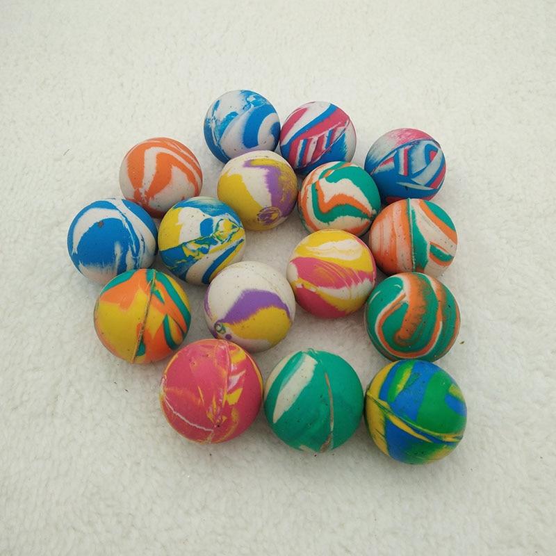 Jumping Ball Color Mixed Outdoor Rubber Bath Sport Kids Elastic Bouncing Balls