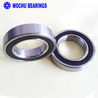 1 Pair MOCHU 7008 7008C 2RZ P4 DB A 40x68x15 40x68x30 Sealed Angular Contact Bearings Speed Spindle Bearings CNC ABEC-7