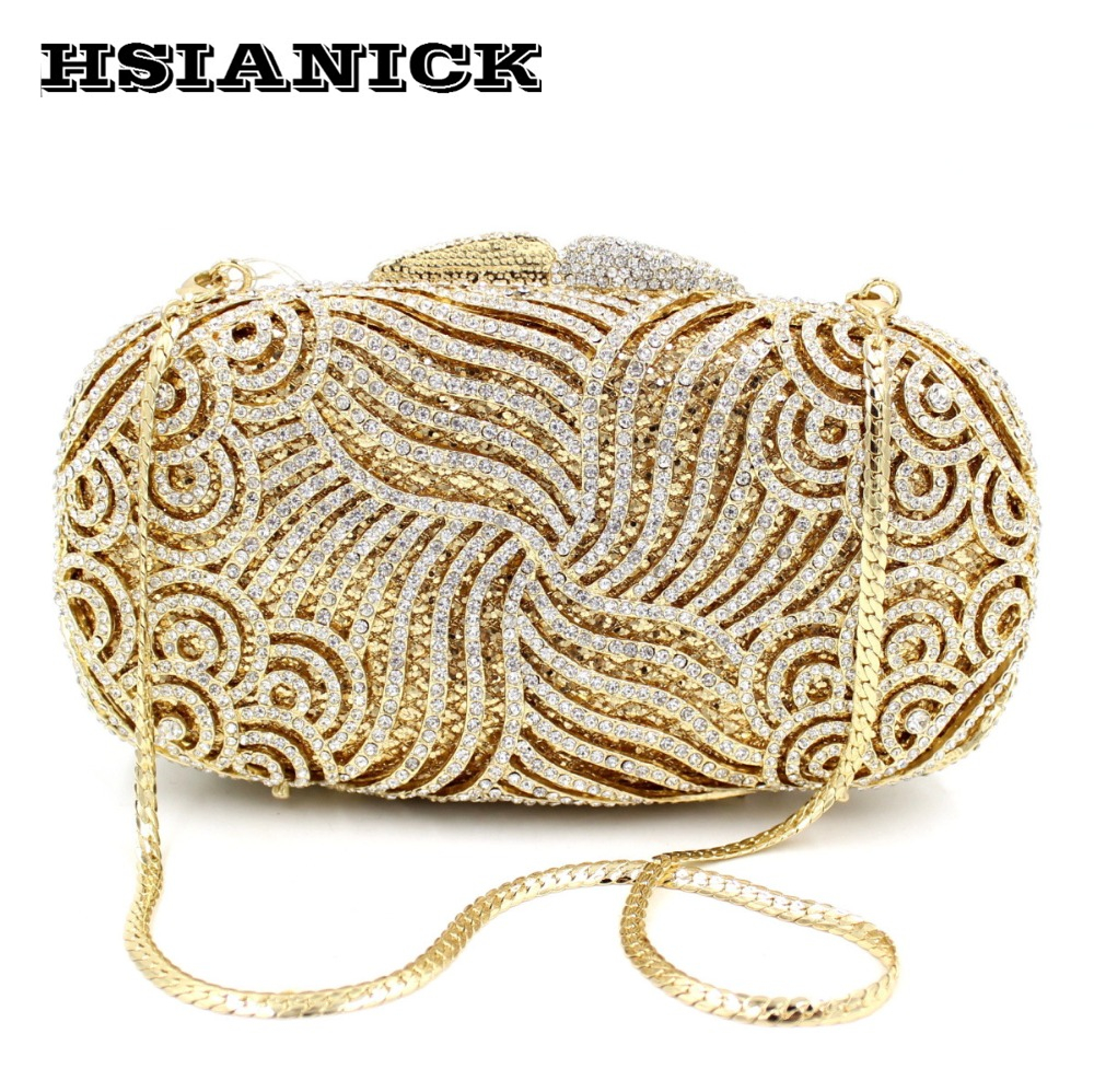 2017 Real Women Polyester Europe Hot Selling High-end Luxury Diamond Evening Bag Full Handbag Dress Clutch Party Prom Dinner europe new upscale butterfly diamond evening bag full diamond party handbag clutch