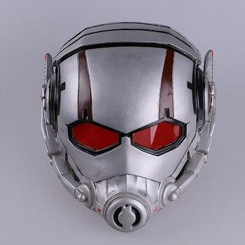 Ant Uomo Maschera di Antman Costume Resina Ant-Man Casco PVC Cosplay Maschera di Halloween Mascara Maschere Batman Uomo di Ferro casco