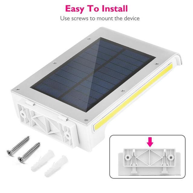 Solar Lights Motion Sensor For Garden Decoration Waterproof 2COB+72 LED Solar Lamp Outdoor Lighting Emergency Wall Lampion