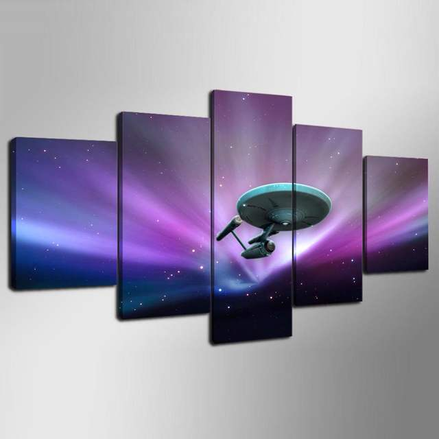 online shop wall art canvas painting style frame 5 panel movie star