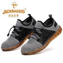 Steel Head Mesh Safety Shoes Men Woman,lightweight Breathable Mens Work Shoes,non-slip Wearable  Rubber Boots Construction Shoes цены онлайн