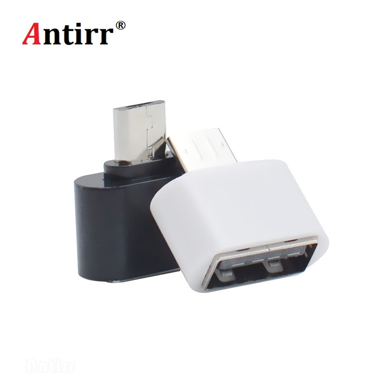 2019 New Micro USB To USB OTG Adapter 2.0 Converter For Android Samsung Galaxy S3 S4 S5 Tablet Pc To Flash Mouse Keyboard