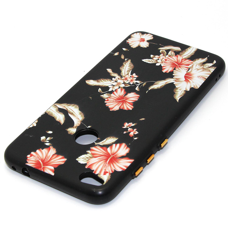 3D Relief flower silicone case huawei p8 lite 2017 honor 8 lite (14)
