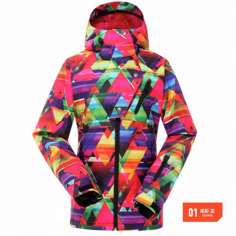 Livraison directe nouvelle marque neige veste imperméable coupe-vent thermique manteau 2017 randonnée Camping cyclisme veste hiver Ski veste hommes