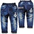 6199 BABY boy PANTALONES VAQUEROS de mezclilla pantalones pantalones casuales los niños de primavera y otoño de la manera nueva baby blue jeans