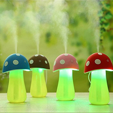 200ml Portable Mushroom Lamp Shape USB Mist Humidifier Mini Atomizer Diffuser for Office Home Car Travel