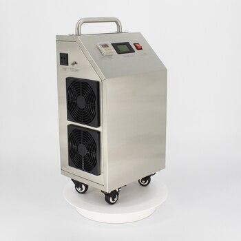 Pinuslongaeva CE EMC LVD FCC مصنع المخرج 5 10 20 30 جرام/ساعة 30 gram المنقولة المحمولة مولد أوزون الهواء آلة تعقيم مياه