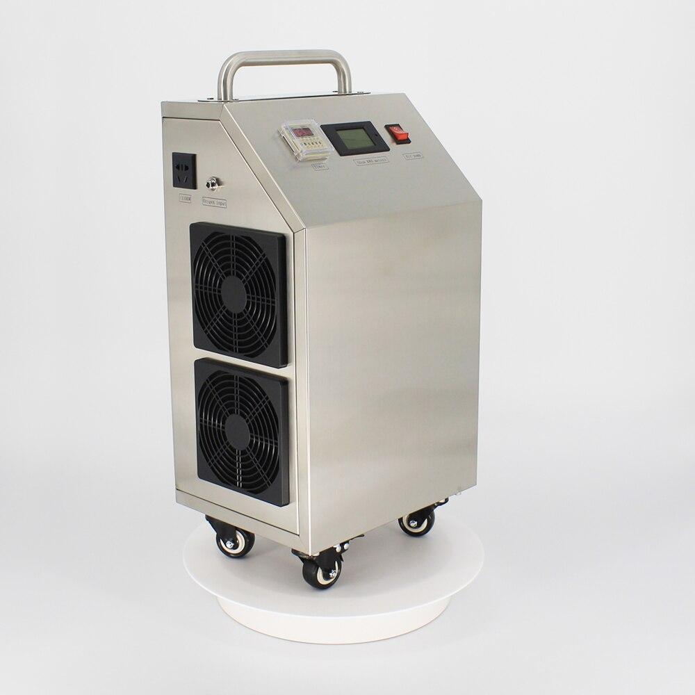 Pinuslongaeva CE EMC LVD FCC Factory outlet 5 10 20 30g/h 30gram Movable portable ozone generator air water disinfection machine