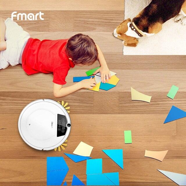 Fmart FM-320 робот пылесос Fmart новый продукт 2 для дома автоматический для уборки пыли стерилизовать приложение умный планируемый мытье Швабра