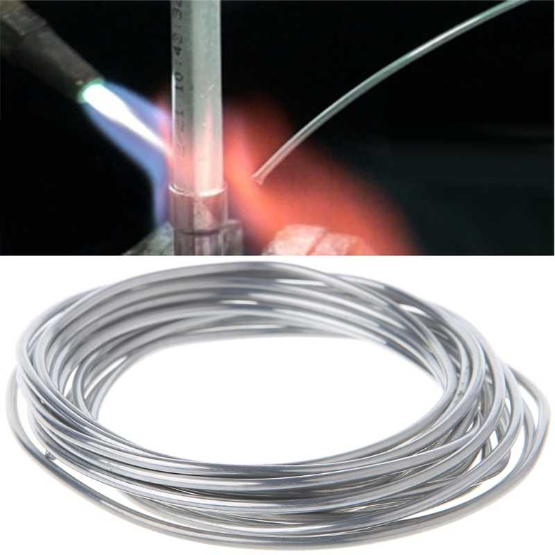 2.00mm*3m Copper aluminum weld flux cored wire Low Temperature Aluminium Welding Rod LS'D Tool