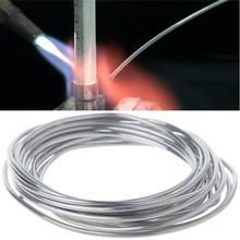 2,00mm * 3m Kupfer aluminium schweiß flux entkernt draht Niedrigen Temperatur Aluminium Schweißen Stange LS'D Werkzeug