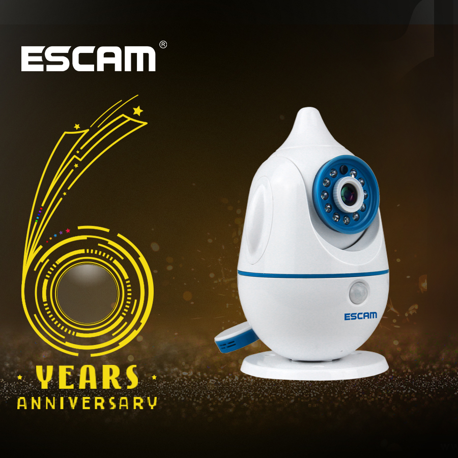 Escam QF521 Penguin 2 way Audio Security Camera IP Camera Wireless Baby Video Movement Monitor Camera Wifi for Baby RoomEscam QF521 Penguin 2 way Audio Security Camera IP Camera Wireless Baby Video Movement Monitor Camera Wifi for Baby Room