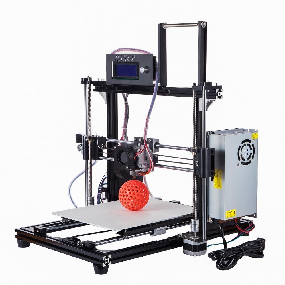 HICTOP Reprap Prusa I3 3D Printer Filament Monitor Auto Level Aluminum DIY 3d printer