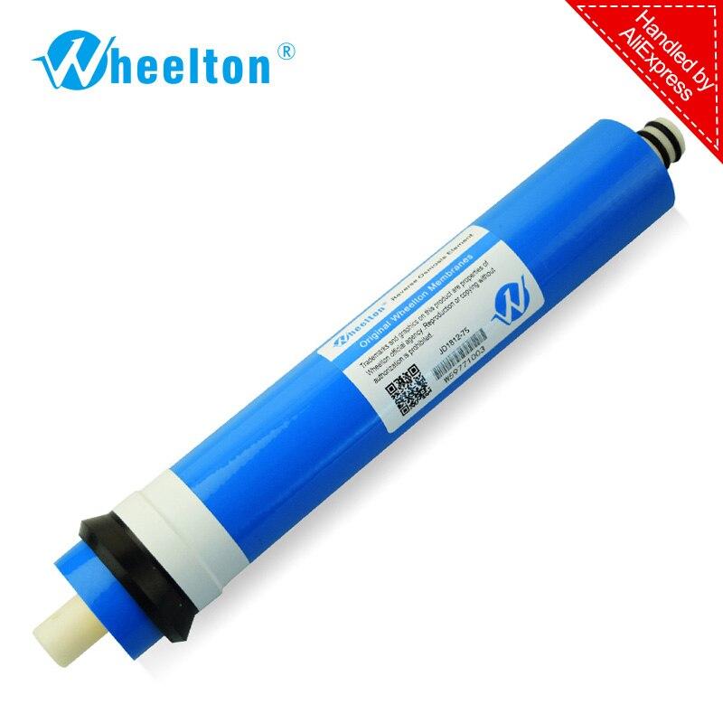 Novo 75 gpd RO Membrane para 5 fase filtro purificador de água da osmose reversa do sistema de tratamento frete grátis