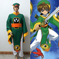 Card captor Sakura Li Syaoran cosplay costume GOOD quality