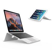 Aluminum Adjustable Laptop Stand Tablet Dock Holder Bracket Universal For Apple Macbook iPad Air Pro 11 12 13 15 PC Notebook