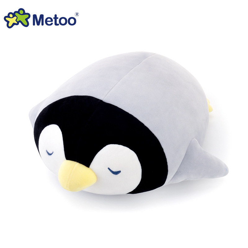 Genuine Metoo plush ocean stuffed animal penguin turtle pillow soft doll baby kids toys for girls boys children birthday gifts 30cm fat pet cats persian cat toys pembroke pillow plush toys soft stuffed animal plush dolls simulation peluches gifts kids