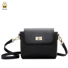 2016 Korean Summer Style Fashion Small Package Retro Minimalist Shoulder Bag Messenger Bag Tide Bag Cross Pattern Girl Flap