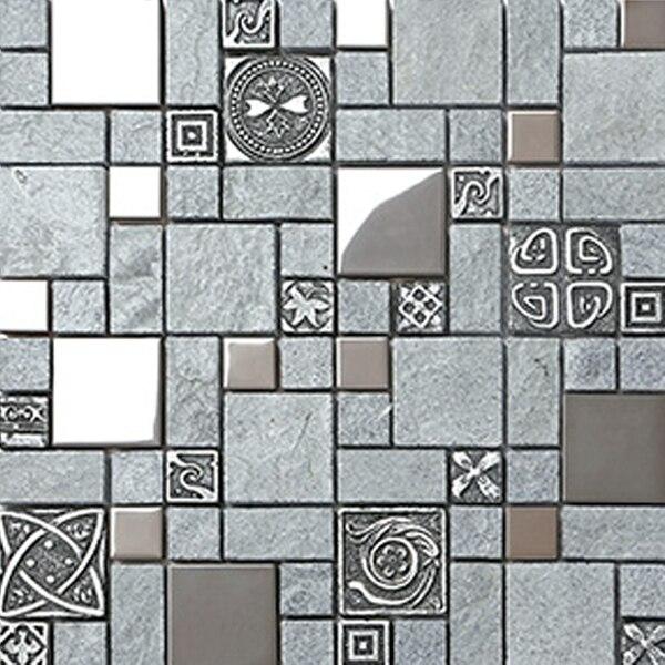 Acquista all'ingrosso online grigio piastrelle di vetro da ...