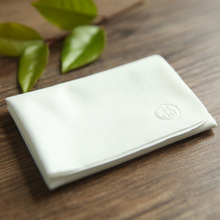 Big size high quality pure white suede glasses cloth lens wipes erasable mirror 200*200mm
