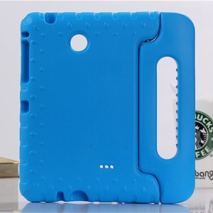 Image 2 - Case for Samsung Galaxy Tab 4 8.0 T330 T331 hand held full body Kids Children Safe Silicone for SM T330 SM T331 tablet cover