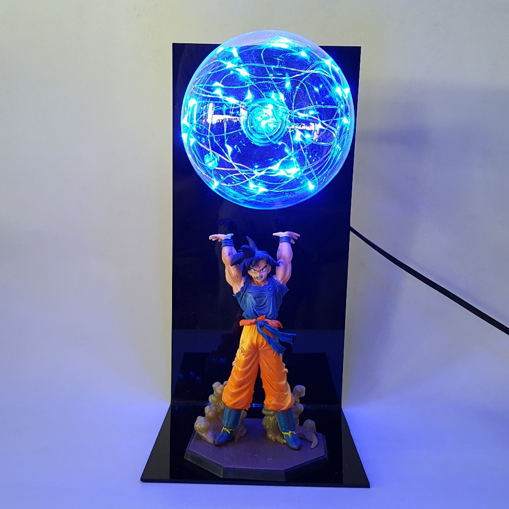Shop For Dragon Ball Z Goku Spirit Bomb Lamp
