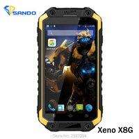 2016 Oryginalny X8G IP68 Wytrzymały Telefon Android 5.1 MT6735 1.04 MHz 2G RAM 16G ROM 4.7