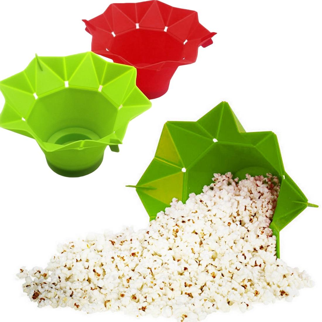 magic microwave silicone popcorn maker
