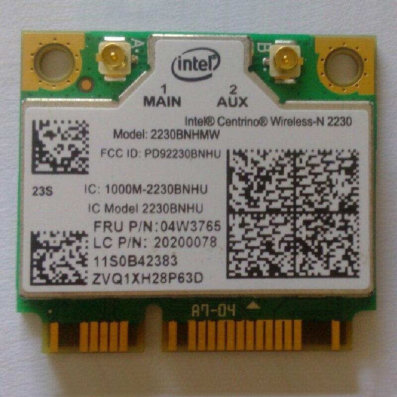 2x2bgn int 2230 wi-fi + bt4.0 placa de adaptador para lenovo e430 y400 y410p e330 v490 p500 z500 series, fru 20200078 04w3765
