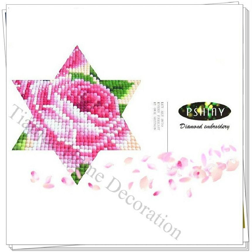 PSHINY 5D DIY Алмазды кестелеу Maple Leaf - Өнер, қолөнер және тігін - фото 4