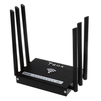 Engels versie High power 6 antenne draadloze router high speed 300 Mbps 64 M Geheugen maxpower 500 mw WIFI Draadloze Route