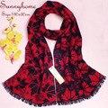Толстые вискоза 100% Щеткой Шелковый шарф мужская люксовый бренд дизайнер зима теплее мужская шарфы обруча