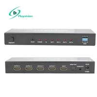 Hdmi Splitter 1 4 1 In 4 Out 1X4 1080P With Audio Extractor Ultra High Resolution