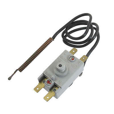 WQS93-12 Electric Water Heater Kettle Thermostat AC 250V 20A 4 Pin Terminals