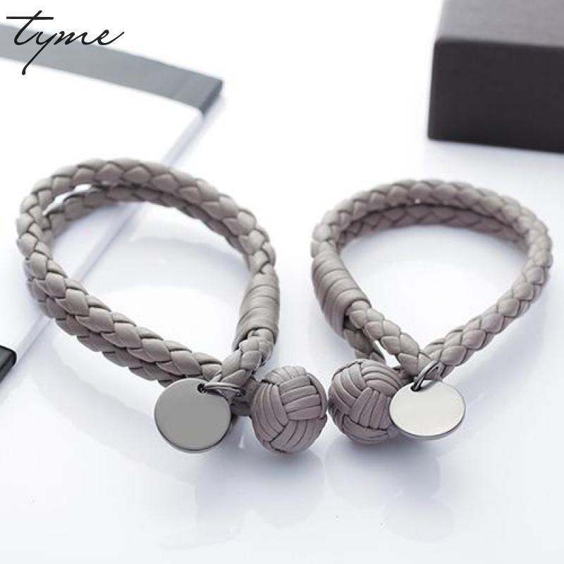 Fashion titanium tyme Bracelets For Women round card woven spherical male and female lovers H bracelet Men Jewelry love Bangles недорого
