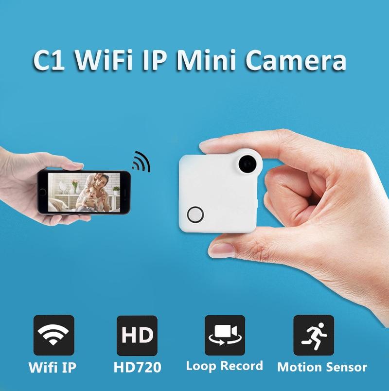 C1 мини Камера DVR Wi-Fi P2P IP 720 P H.264 HD Mini Камера Беспроводной Action Cam велосипед Камера Mini DV камера видео Регистраторы