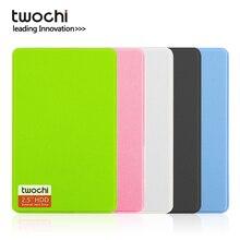 TWOCHI A1 2,5 »USB3.0 внешний жесткий диск 80 Гб/120 ГБ/160 Гб/250 ГБ/320 Гб/500 Гб Портативный HDD хранения дисковый разъем и Play для ПК/Mac