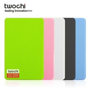 Twochi A1 2.5 ''USB3.0 Externe Harde Schijf 80 Gb/120 Gb/160 Gb/250 Gb/ 320 Gb/500 Gb Portable Hdd Storage Disk Plug En Play Voor Pc/Mac(China)