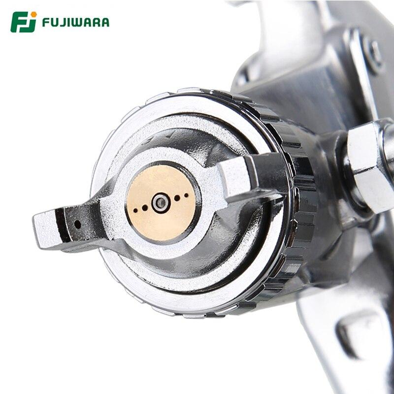 Image 5 - FUJIWARA W 71C Pneumatic Spray Gun Varnish Spray Gun Highly Atomized Furniture, Wooden Furniture Automobile Spray Gun-in Spray Guns from Tools