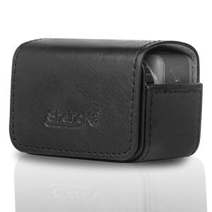 Image 5 - Sacchetto di cuoio caso Portatile interruttore Magnetico sacchetto di immagazzinaggio per dji osmo action macchina fotografica di sport Accessori