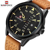 2017 New Fashion Casual NAVIFORCE Luxury Brand Men Army Military Sports Watches Men S Quartz Clock