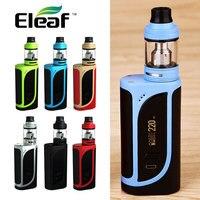 Original Eleaf IKonn 220 Kit vaporizador W/OLA 2 ml/4 ml Atomizador Tanque Cigarrillo electrónico 220 W MOD VS Alien IKONN MOD 18650 batería