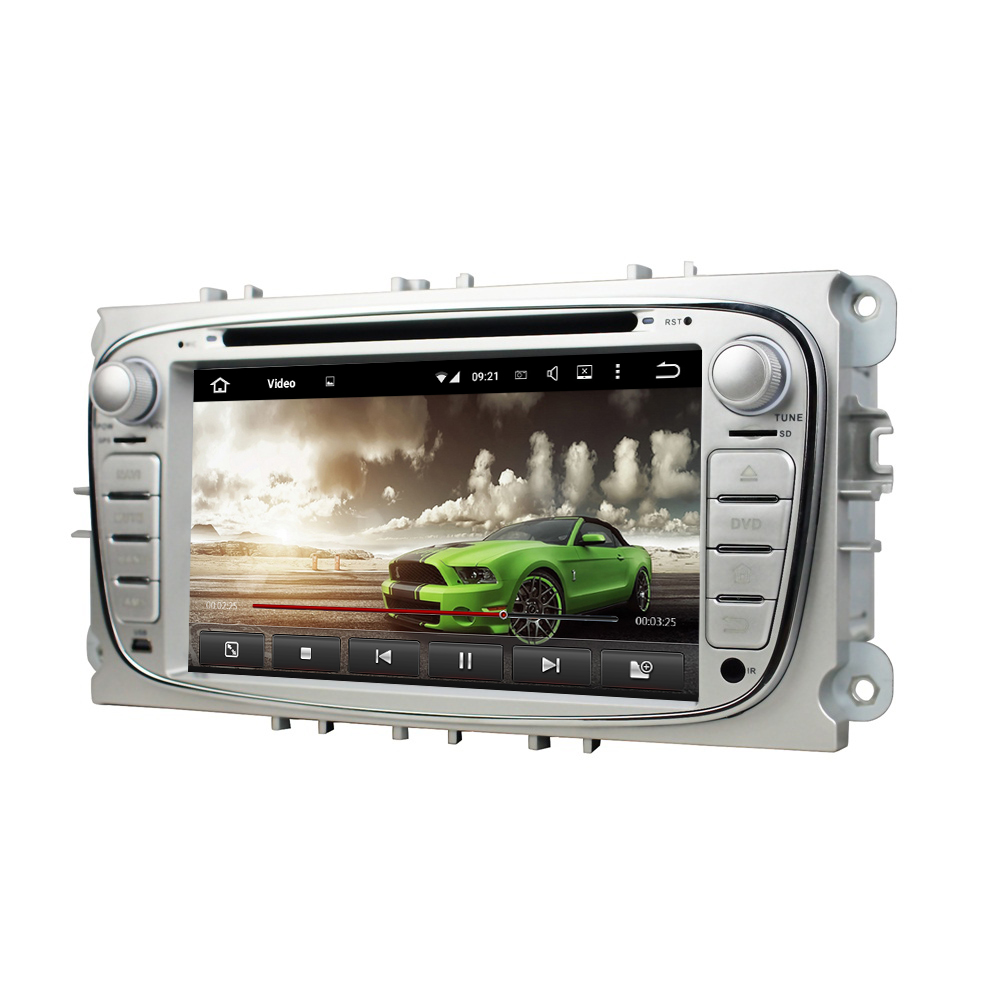 4GB RAM Octa Core 7 Android 6.0 Car DVD Player for Ford Mondeo Tourneo Transit S-max With Radio GPS 4G WIFI Bluetooth USB DVR
