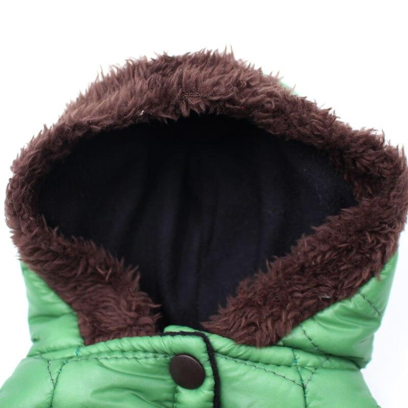 Новая зимняя одежда для собак для маленьких собак, теплый пуховик, водонепроницаемая куртка для собак, толстый хлопковый лыжный костюм, одежда для чихуахуа-5