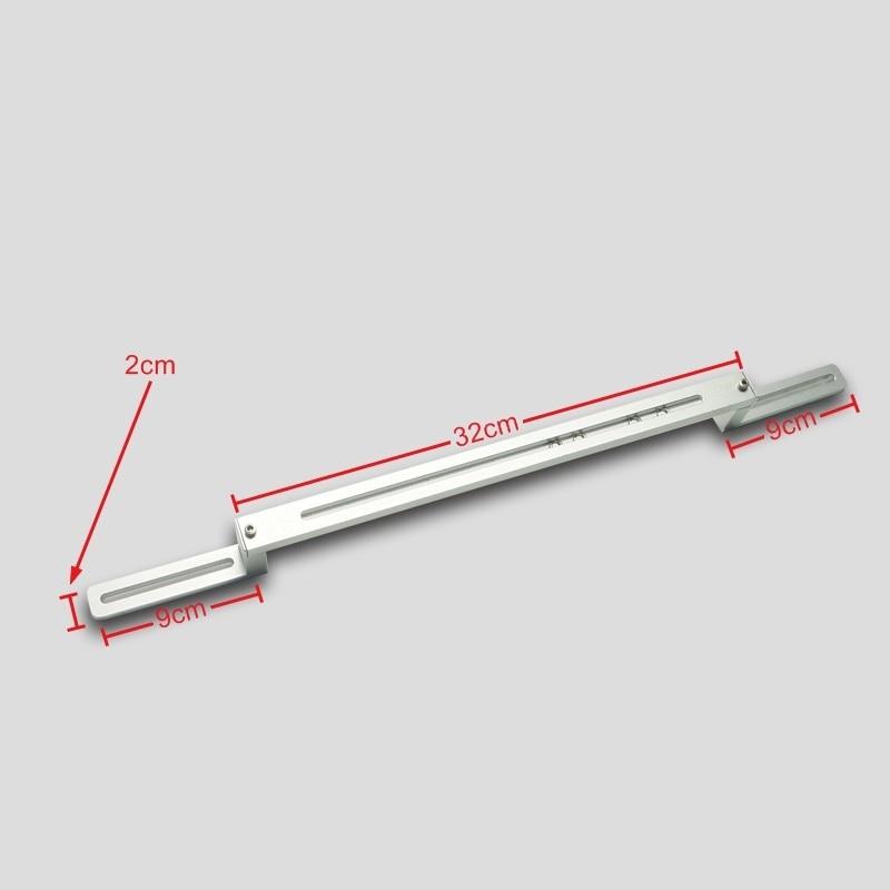Universal aluminum BGA support jig zigzag type for BGA machines with bottom needles bga jig with screws 4pcs
