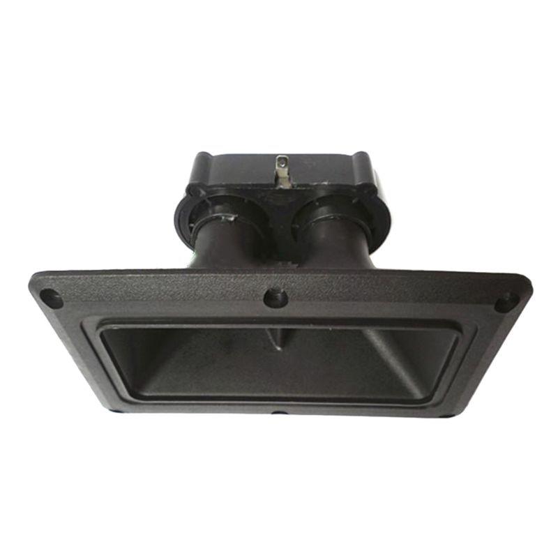 150W Dual Piezo Tweeters Horn Piezoelectric Speaker Buzzer Treble Piezo Head Driver For Home Subwoofer Stage Loudspeaker F42D